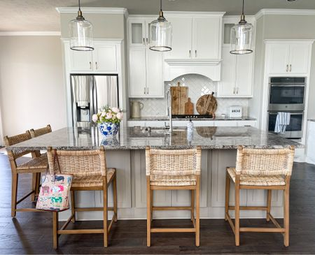 Affordable barstools // counter stools Wide seat and. Comfortable    #LTKfamily #LTKhome