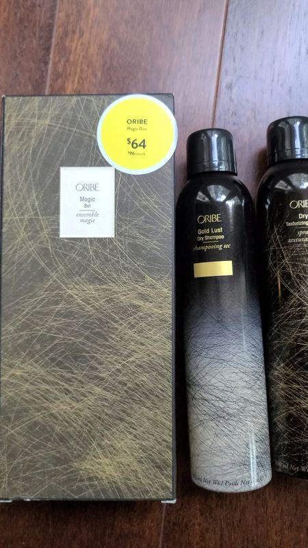 oribe hair products  full size dry shampoo and texturing spray on sale for $64   #LTKbeauty #LTKunder100 #LTKstyletip http://liketk.it/3jYI3 @liketoknow.it #liketkit