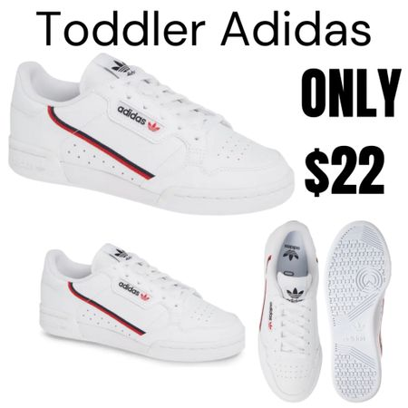Kids Adidas on sale! Only $22!  http://liketk.it/3hOPu #liketkit @liketoknow.it #LTKsalealert #LTKshoecrush #LTKunder50