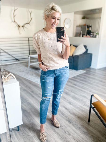 Brunch OOTD M in top 4 in jeans    #LTKshoecrush #LTKunder50 #LTKsalealert