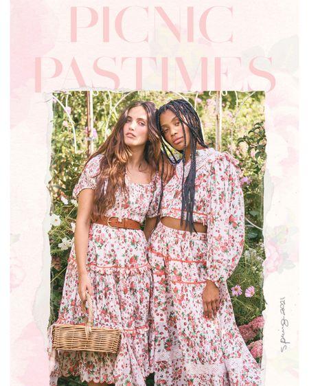 LoveShackFancy new drop - strawberry fields on flirty dresses just in time for Easter http://liketk.it/3bjZ8 #liketkit @liketoknow.it