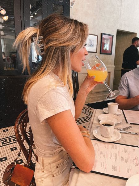Right before the 4th mimosa 🍊🍾 also, for 10 million would you… (see stories 😂) @liketoknow.it #liketkit http://liketk.it/3iyxm #LTKunder100 #LTKunder50