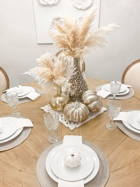 #Boho #Neutral #Fall #Decor #Dinningroomtable #pumpkins #home #interiordesign  Follow my shop @allaboutastyle on the @shop.LTK app to shop this post and get my exclusive app-only content!  #liketkit  @shop.ltk http://liketk.it/3p5Z3    #LTKGiftGuide