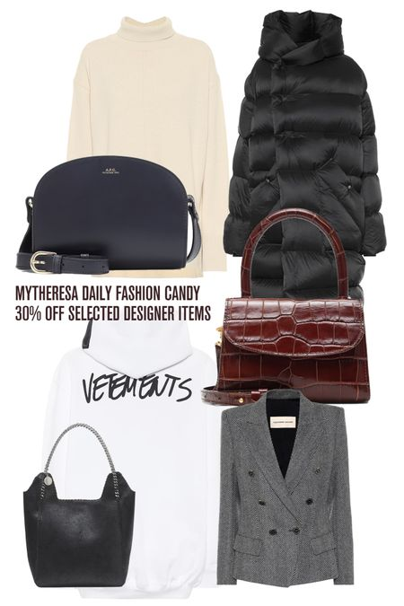 http://liketk.it/2ZCZd #liketkit @liketoknow.it Mytheresa Daily Fashion Candy, Designer Brands, Vetements, Stella McCartney, Designer Sale, Mytheresa Sale