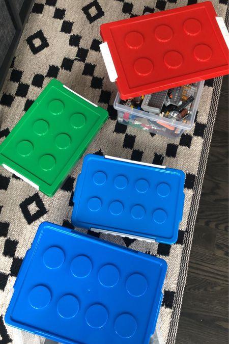 Lego Organizing Bins // http://liketk.it/3c7DP #liketkit @liketoknow.it