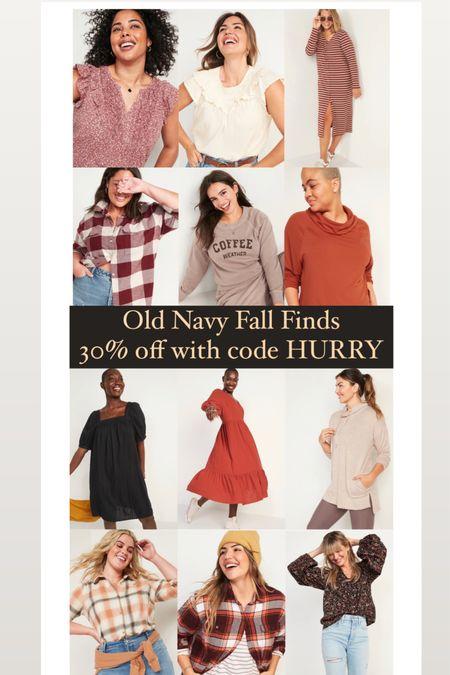 Old Navy Fall Finds 🙌🏻🧡 use code HURRY for 30% off!   #LTKstyletip #LTKunder50 #LTKSeasonal