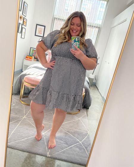 super adorable gingham forever 21 dress! on sale for $24. http://liketk.it/3fd4e @liketoknow.it #liketkit #LTKcurves #LTKunder50 #LTKsalealert