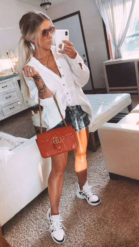 Fave multi purpose white button down. Works as a swim cover up, wear it to dress up or down   #LTKbump #LTKstyletip #LTKunder100