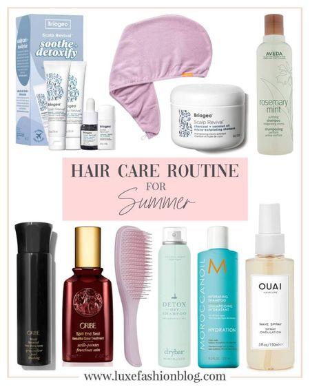 Hair Care Routine For Summer http://liketk.it/3gS3m @liketoknow.it #liketkit #LTKbeauty #LTKfit #LTKstyletip