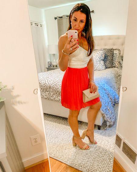 Date night out / sundress/ nude heels http://liketk.it/2Raiq #liketkit @liketoknow.it #LTKshoecrush #LTKspring #LTKunder50