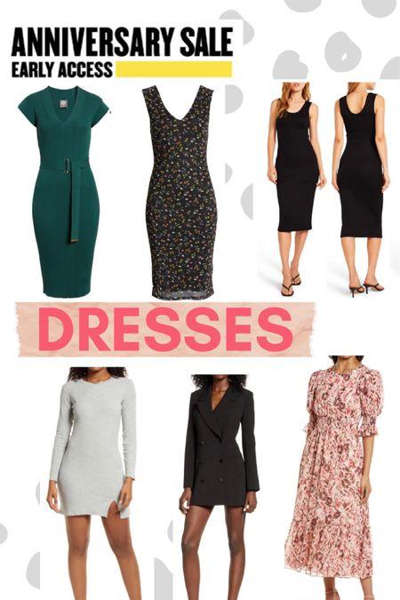 NSale // Nordstrom // Anniversary Sale // dresses // workwear // afrm // Vince Camuto // good American   #LTKSeasonal #LTKsalealert #LTKunder100