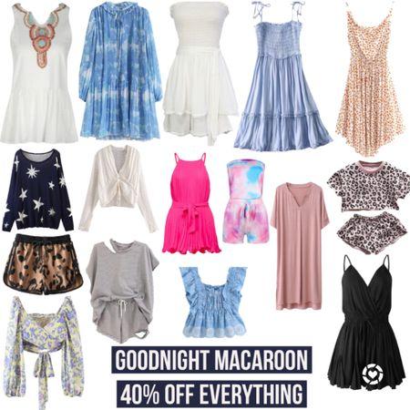 Last chance! Goodnight Macaroon 40% Off Everything Sale! Use code 4THJULY at checkout! Links in LIKEtoKNOW.it!  #goodnightmacaroon #sale #salealert #romper #usa #america #4thofjuly #dress #summerstyle #summer #bloggerstyle #wfh #workfromhome #styleblogger #leopard #tiedye #trending #ltktrend #LTKunder100 #LTKsalealert #LTKDay @liketoknow.it #liketkit http://liketk.it/2RDkN http://liketk.it/2RJPL