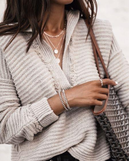 Sterling silver collection, necklaces, bracelets, rings, use code STYLIN10 at checkout for 10% off, StylinByAylin   #LTKGiftGuide #LTKunder100 #LTKstyletip