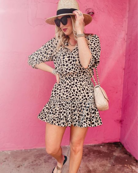 Buddy love leoaprd dress on sale! http://liketk.it/3hkQh #liketkit @liketoknow.it #LTKDay #LTKsalealert #LTKunder100