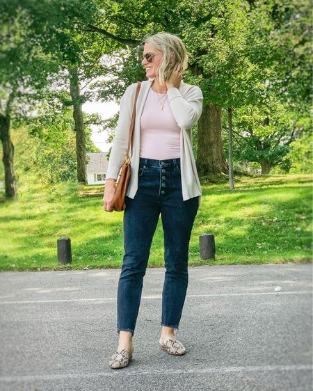 Cardigan with black jeans.   #LTKunder50 #LTKunder100 #LTKstyletip