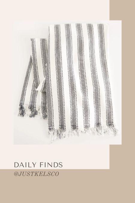 Daily finds // Z Supply Bonita stripe beach towel under $60  #LTKSeasonal #LTKswim #LTKunder100