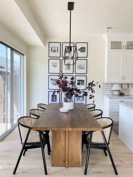 Dining room space complete! #LTKdesign