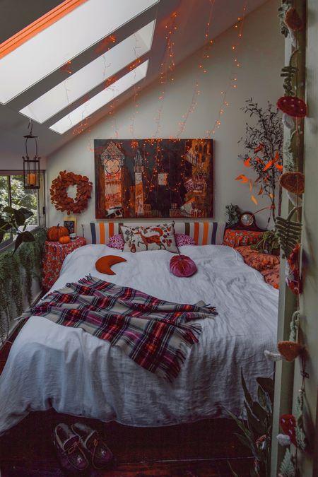 Those cozy fall bedroom vibes  #LTKhome #LTKSeasonal