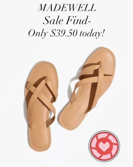 #LTKshoecrush ! These sandals are so cute!! I'm so glad I found them on sale! #LTKsalealert http://liketk.it/3gX4P #liketkit @liketoknow.it