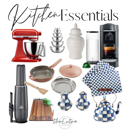 These kitchen essentials get me through each and every day and I wouldn't be able to cook or use my kitchen without them'  #mackenziechilds #aazonhome #nespresso #ourplacealwayspan # kitchenaidmixer #kitchenessentials   #LTKunder50 #LTKunder100 #LTKhome