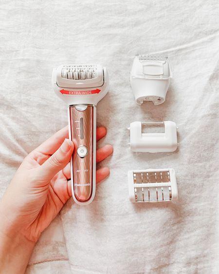 Panasonic Epilator. Definitely my favorite way for at-home hair removal. I prefer it over shaving since it gets the hair from the root #LTKsalealert #LTKunder100 #LTKswim  http://liketk.it/3i5wI #liketkit @liketoknow.it