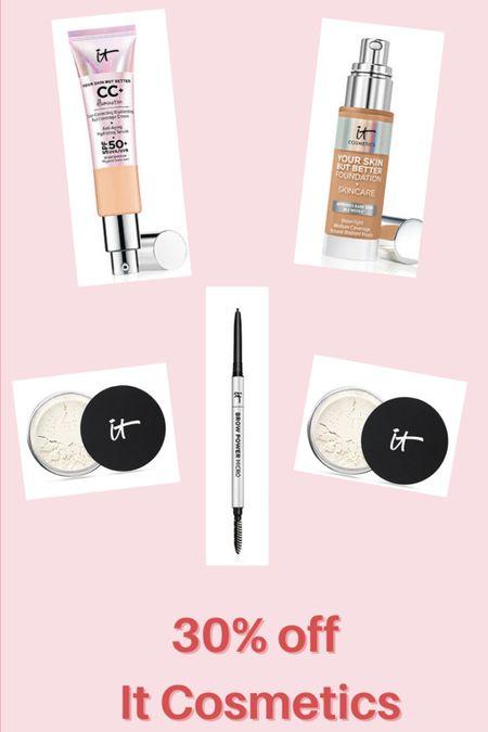 30% off It Cosmetics 💕 @liketoknow.it http://liketk.it/3hl4i #liketkit #LTKbeauty #LTKunder50 #LTKsalealert