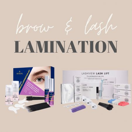 """At home brow & lash lamination kits! I'm so excited to try these!!  www.bombshellbeads.com use code """"KIM"""" for 20% off!     #LTKbeauty #LTKunder50 #StayHomeWithLTK"""