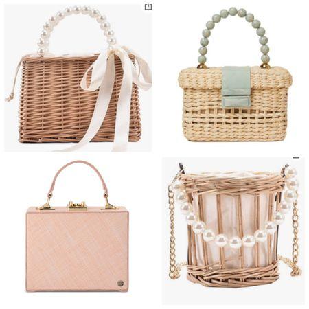 Straw and raffia small bags for summer http://liketk.it/3it6D #liketkit @liketoknow.it #LTKunder100 #LTKwedding #LTKtravel