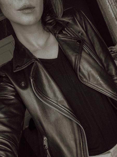 The perfect black leather jacket for every season.  #LTKstyletip #LTKSeasonal