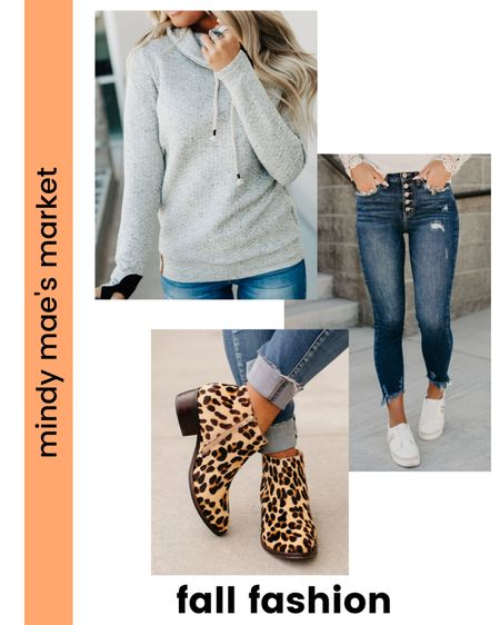 Check out these adorable fall fashion picks from Mindy Mae's Market! They have the cutest double hoodies and the best booties!  #LTKunder100 #LTKshoecrush