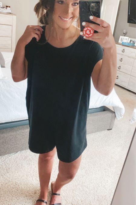 Perfect summer romper. Wearing medium for reference, oversized fit. @liketoknow.it  http://liketk.it/3fQOr #liketkit #LTKunder100 #LTKcurves #LTKstyletip