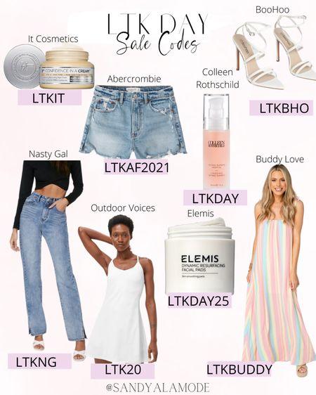 LTK Day sale codes! http://liketk.it/3hnRM #liketkit @liketoknow.it #LTKDay #LTKsalealert