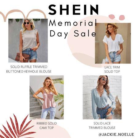 SHEIN has some awesome Memorial Day weekend sales happening now! Shop my daily looks by following me on the LIKEtoKNOW.it shopping app @liketoknow.it #liketkit #LTKunder50 #LTKsalealert #LTKstyletip http://liketk.it/3gx6N