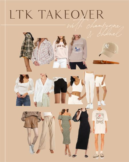 LTK takeover outfits!
