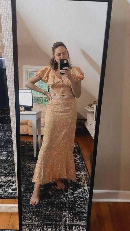 revolve summer style. Revolve fashion. Amuse Society set. Two piece set. Summer fashion. Wedding guest.   #LTKunder100 #LTKSeasonal #LTKstyletip