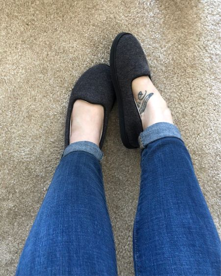 These slippers are perfect. They feel like the comfiest flats ever and I feel like I'm dressed even when I'm in leggings 🤣 http://liketk.it/31lni #liketkit @liketoknow.it #LTKunder50 #StayHomeWithLTK #LTKshoecrush