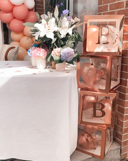 The perfect decor to create the most adorable baby shower for a little girl! Floral themed! http://liketk.it/3jFe0 #liketkit @liketoknow.it #LTKbaby #LTKbump