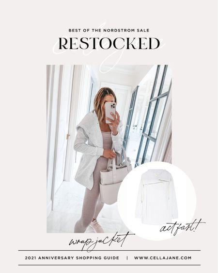 Restocked!! Love this jacket