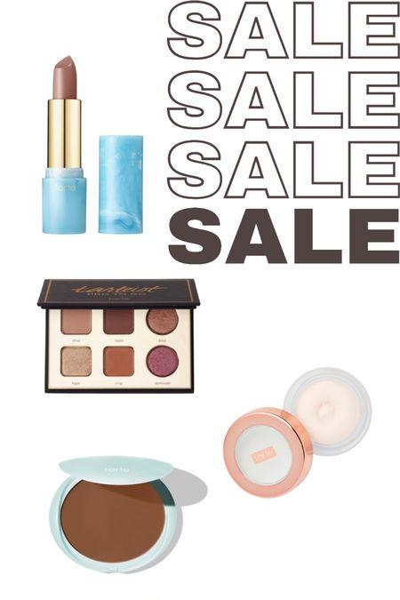 Tarte LTK Day Sale! 25% off!  Cream bronzer Eyeshadow pallet Lipstick: shades beachbabe, salt lyfe and Colada  Poreless primer  http://liketk.it/3h4rK #liketkit @liketoknow.it #LTKsalealert #LTKDay #LTKbeauty