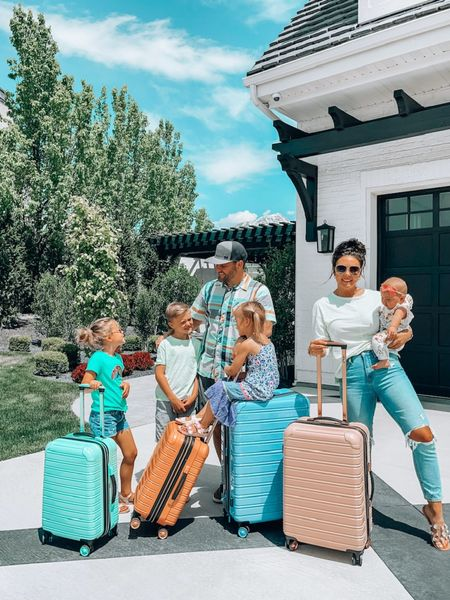 Family vacation time! Where ya headed?  Easy roll hard case luggage comes in so many colors. Affordable and great quality. http://liketk.it/3fpdM #liketkit @liketoknow.it #LTKtravel #LTKfamily #LTKkids @liketoknow.it.family You can instantly shop my looks by following me on the LIKEtoKNOW.it shopping app  Walmart finds