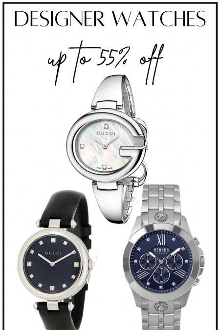 Gucci, Versace and more designer brand watches #thedailydupes  #LTKsalealert #LTKSale