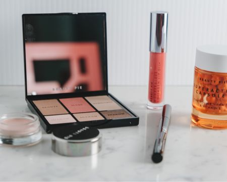 Beauty pie!!!!! Have you tried it yet? I tried a few items, spent less than $75 for everything and am absolutely blown away by the quality, packaging (so pretty!) and selection. Will definitely reorder.  Here's what I tried: *the one palette is AMAZING. The bronzer is the perfect natural shade, pink is pretty summer blush, and highlight gives a pretty sheen. Eye makeup is beautiful and stays put all day. *vitamin C capsules are awesome for daily use for hyperpigmentation and so much cheaper than other serums in my skincare lineup *lipgloss with collagen is pretty and soothing *undereye color corrector yesss better than concealer *liquid eyeliner is easy to apply and looks so pretty, stays on all day  What have you tried!?   #LTKbeauty #LTKstyletip
