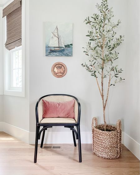 http://liketk.it/3es2V #liketkit @liketoknow.it @liketoknow.it.home  Blackout shade, wood shade, Roman shade, woven basket, basket, planter, faux tree, olive tree, cane chair, dining chair, arm chair  Shop your screenshot of this pic with the LIKEtoKNOW.it shopping app   #LTKhome #LTKunder100