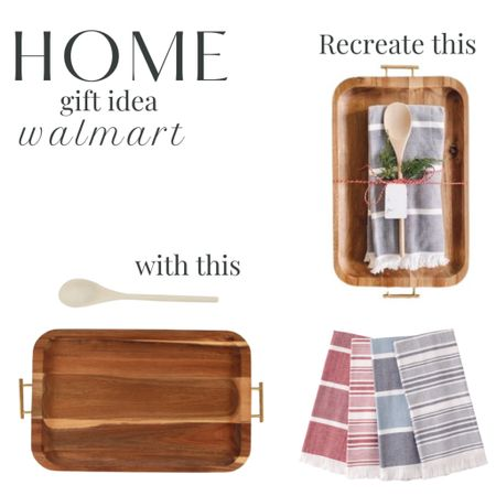 A home themed gift idea with items from walmart.   #LTKhome #LTKfamily #LTKGiftGuide