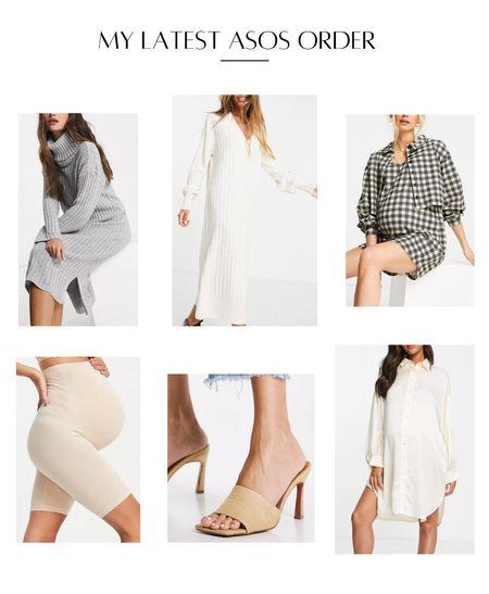Maternity fall style turtleneck sweater dress maternity dress nude heel silk shirt dress maternity underwear   #LTKstyletip #LTKbump