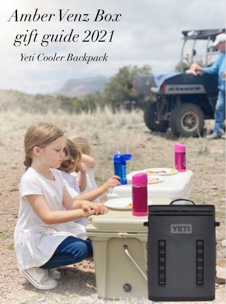 Yeti is the grand champion of coolers and this shape and style is perfect for tailgates, fits nicely behind your seat for car travel and doubles as a true backpack. You cant go wrong with a Yeti.  #LTKGiftGuide #LTKtravel #LTKHoliday