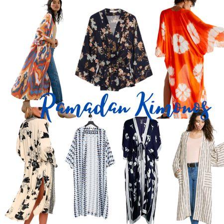 Gorgeous kimonos for Ramadan.  #ramadanfashion  #kimonos  #LTKSeasonal #LTKstyletip