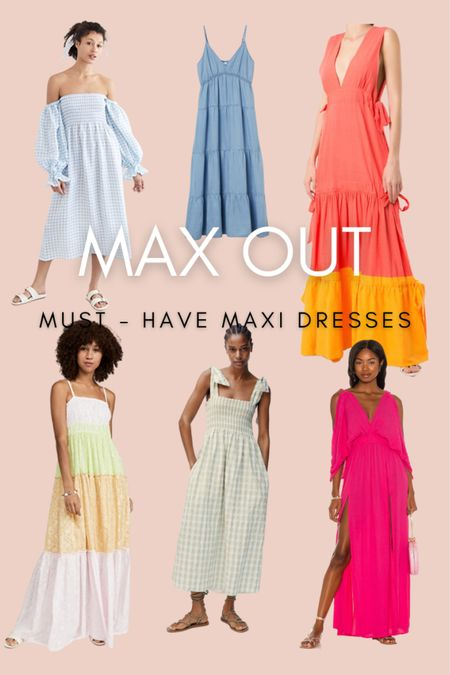 Must have maxi dresses for the dog days of summer   #LTKstyletip #LTKunder100