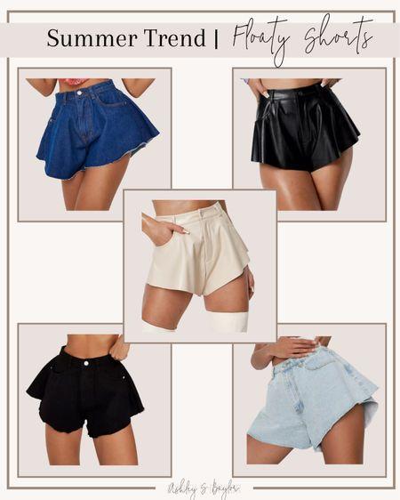http://liketk.it/3fNUq #liketkit @liketoknow.it #LTKstyletip #LTKsalealert #LTKunder50 floaty shorts, summer outfit, summer trend
