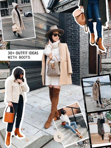 30+ outfit ideas with boots. Boot style.   #LTKshoecrush #LTKstyletip #LTKSeasonal